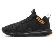 Sneaker 'Enzo' orange / schwarz