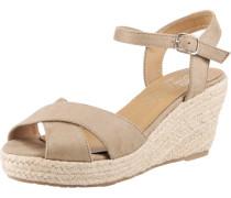 Sandalette camel / beige