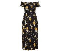 Kleid 'cindy' gelb / schwarz