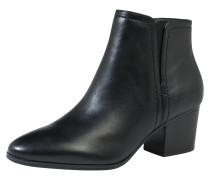 Ankle Boots 'Larissi' aus Leder schwarz