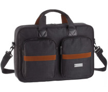 Messenger Bag braun / grau