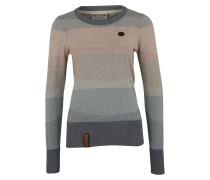 Pullover rauchblau / graumeliert / puder