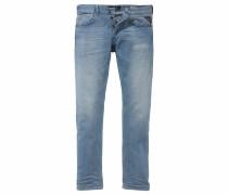 Straight-Jeans 'Grover' blau