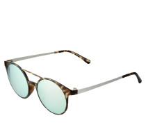 Sonnenbrille 'Demo Mode' braun / silber