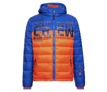 Jacke blau / nachtblau / orange