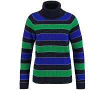 Pullover blau / grün / schwarz