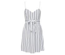 Kleid 'tina' blau / weiß