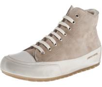 Sneakers dunkelbeige / naturweiß