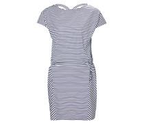 Sommerkleid 'W Siren' blau / weiß