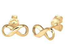 Ohrringe 'Infinity' gold