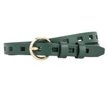 Gürtel 'Belt' dunkelgrün