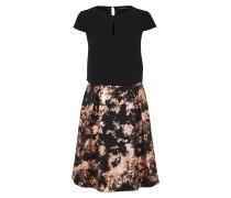 Kleid 'Special' bronze / schwarz