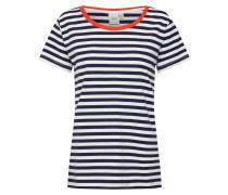 Shirt 'ihthea SS' navy / rot / weiß