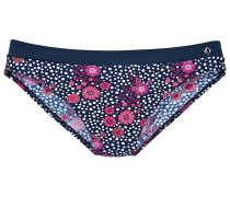 "Bikini-Hose ""Flori"" blau / pink / weiß"