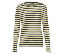 Sweatshirt blau / gelb / weiß