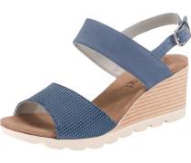Sandaletten rauchblau