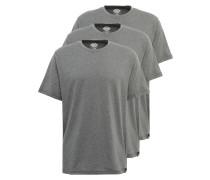 T-Shirt im 3er Pack graumeliert
