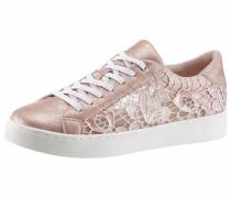 Sneaker nude / rosegold / weiß