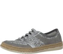 Sneaker 'Deusa' dunkelgrau / silber