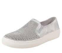 Sneaker 'goldie' silber / weiß
