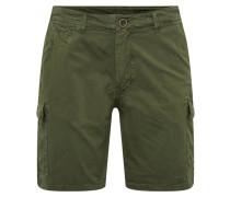 Hose 'Shorts' dunkelgrün