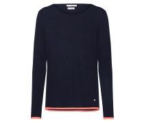 Pullover 'liz' navy / lachs