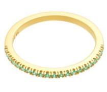 Ring 'Green Simplicity' gold / hellgrün