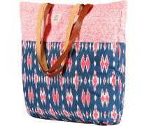 'Swanland' Strandtasche blau / dunkelpink