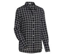 City-Bluse schwarz / weiß