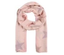 Schal grau / rosa