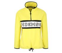 Sport-Sweatshirt gelb / schwarz