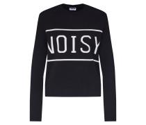 Pullover 'noisy' schwarz / weiß