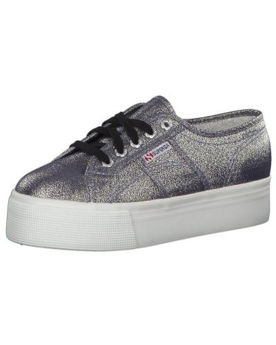 Geringster Preis Günstig Kaufen Fabrikverkauf Superga Damen Sneaker '2790 Lamew' grau / weiß Niedrig Preis Versandkosten Für Verkauf 33wF7fx
