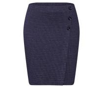 Rock 'Jaquard Skirt' blau / grau