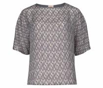 Blusenshirt beige / grau