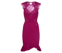 Kleid 'WS Berry Ruch LCE DR' beere