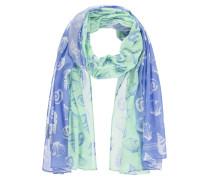 Schal blau / mint