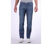 Jeans im lässigen Casual-Chic blau