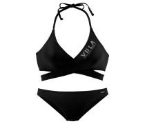 Triangel-Bikini schwarz