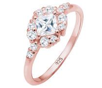 Ring rosegold / transparent