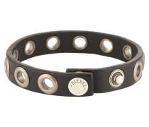 Armband 'vlad' schwarz / silber