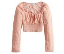 Bluse mischfarben / pink