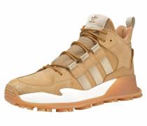 Sneaker sand / hellbeige / weiß