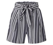 Shorts 'vinnie Emerald' schwarz / weiß