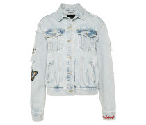 Jeansjacke 'viva' blue denim