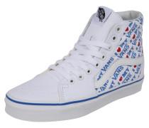 Sneaker 'UA SK8-Hi' blau / weiß