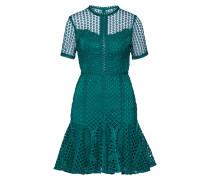 Kleid 'Elara' dunkelgrün