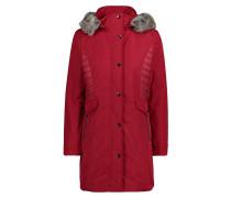 Winterjacke rot / dunkelrot