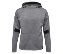 Sweatshirt 'Tech Move' dunkelgrau / schwarz