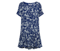 Kleid '32054' blau / weiß